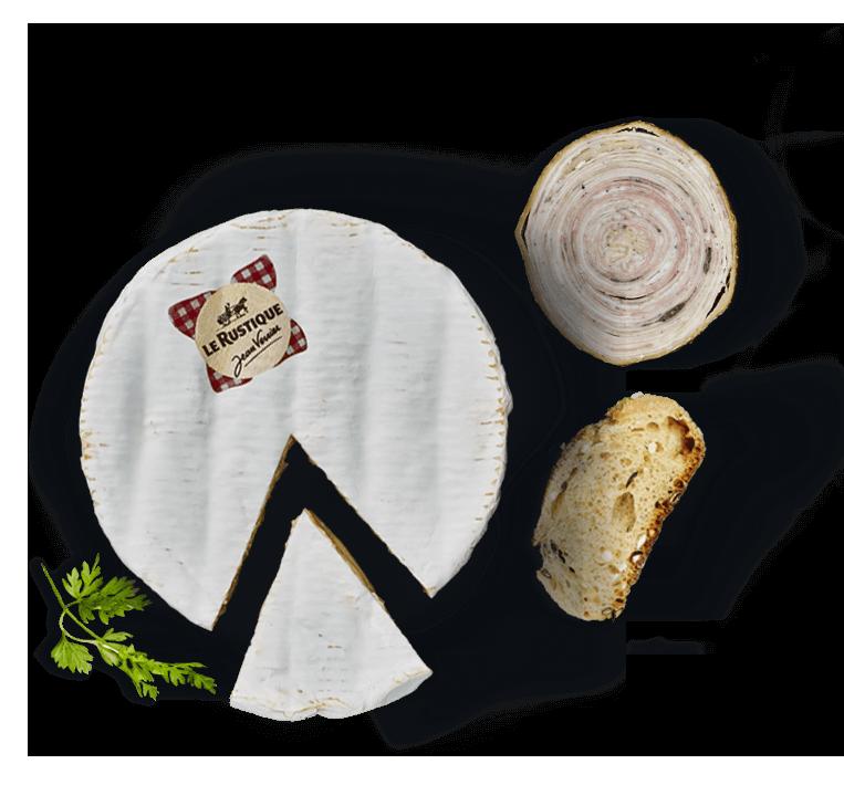 Camembert Le Rustique & Andouille de Guémené à l'ancienne