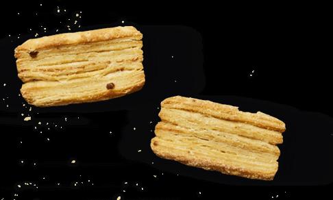 Tomme Fruitée Le Rustique & Salé de Reims au biscuit rose
