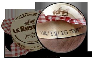 Informations Camembert
