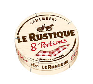 Le Camembert en portions Le Rustique