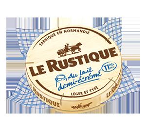 Le Camembert au lait demi-écrémé Le Rustique