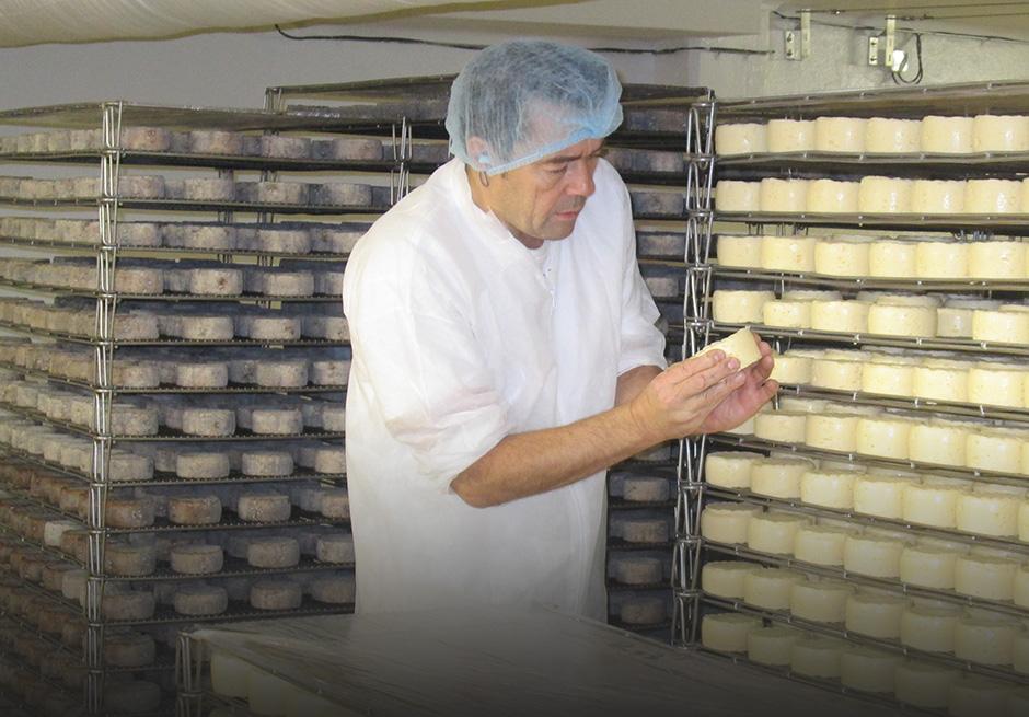 Philippe Lacour, maître-fromager Le Rustique